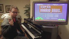 Super Mario Bros on Piano