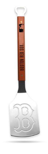 Sportula Products 7018805 Boston Red Sox Sportula by SPORTULA PRODUCTS. $24.99. Unique laser-cut design. Custom heat-stampled lettering. Heavy-duty stainless steel. Hard maple handles with durable brass rivets. convenient bottle opener. The Sportula is a heavy duty stainless steel grilling spatula that is perfectly designed for the Ultimate Tailgater.