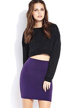 Knit Bodycon Skirt | FOREVER21 - 2077763300