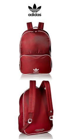 pretty nice 9a15d b0ad6 Adidas Originals - Santiago Backpack  Dark Red  Click for Price and More   New