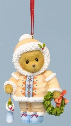 Cherished Teddies Dated 2013 Holiday Ornament - Embrace the Season's Traditions by Cherished Teddies, http://www.amazon.com/dp/B00E6SZFOI/ref=cm_sw_r_pi_dp_a0ufsb0V55QD4