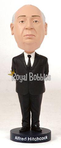 Master of suspense and cinema legend Sir Alfred Hitchcock. #Bobblehead #RoyalBobbles