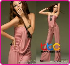 fashion casual jumpsuit, women sexy