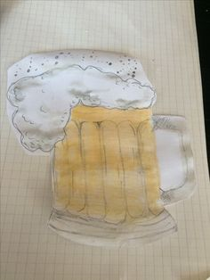 I made a beer for my uncle