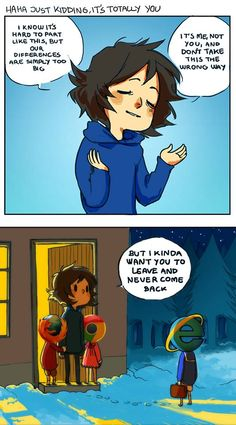 Fail by Error :: Noone likes you. | Tapastic Comics - image 1