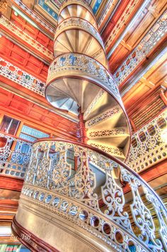 Spiral Stairs | Flickr - Photo Sharing! Iowa State Capitol Law Library