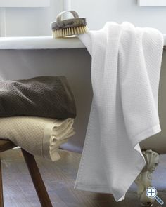 EILEEN FISHER Organic Cotton Spa Towels. @EILEEN FISHER