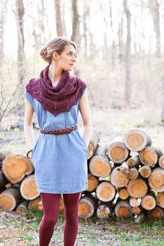 Frida shawl from Brooklyn Tweed