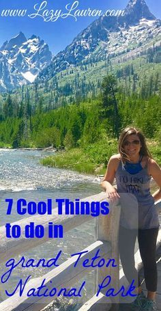 Planning a trip to the Grand Teton National Park? My husband and I spent 3 days exploring the area after our trip to Yellowstone. The park is only about an hour south of Yellowstone National Park in Wyoming. Here are 7 things to add to your National Park Wyoming Vacation, Yellowstone Vacation, Tennessee Vacation, Yellowstone Camping, Wyoming Camping, Us National Parks, Grand Teton National Park, Yellowstone Nationalpark, Travel Usa