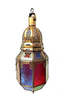 Moroccan Hanging Pendant Lantern Carved Brass Finish Stained Glass Lamp (Copper) Moroccan Furniture Bazaar LLC http://www.amazon.com/dp/B011CODP4K/ref=cm_sw_r_pi_dp_TQ.Nvb03AVZWS