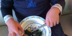 Eat more Kale! This kale dish is so tender, even a little toddler can eat it.