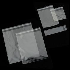 BOLSAS DE POLIPROPILENO DE CIERRE ADHESIVO - Las bolsas de polipropileno son resistentes, flexibles, ligeras y transparentes. Aquí las encontrarás de muchas medidas y de solapa adhesiva.