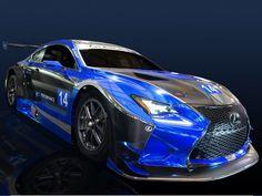 Yeni Lexus Yarış Arabası SEMA Stuns