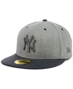New Era New York Yankees Heather Mashup 59FIFTY Cap