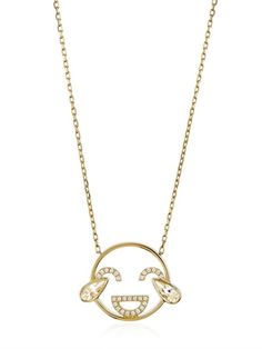 RUIFIER - LOL PENDANT NECKLACE - GOLD