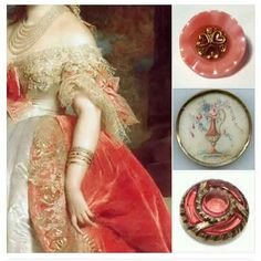 Beautiful dress detail and button selection. Thanks to Bella Bouton on FACEBOOK. #buttonlovers