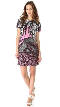 Diane von Furstenberg Short Sleeve Kivel Dress via ShopBop  I think this would look really cute with my hair.