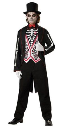 Day of the dead costume for Cody
