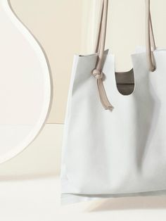 Leather shopper by COS