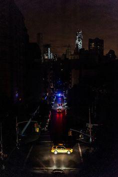 Post-Sandy blackout NYC