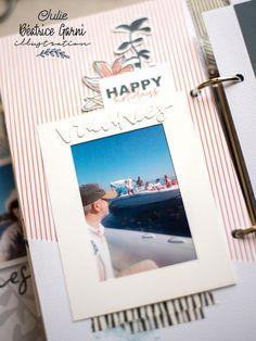 Mini Albums Scrap, Scrapbooking, Happy Holidays, Illustration, Creations, Digi Stamps, Mint Color, Adventure, Happy Holi