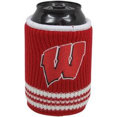 Wisconsin Badgers Woolie Can Koozie  http://sportro.se/f