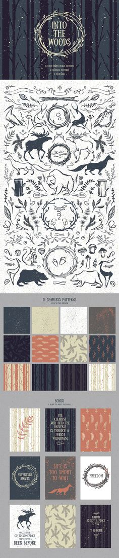 The perfect design elements for creating a DIY Woodland Themed Wedding Invitation {affiliate}