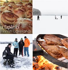 A taste of the simple life in Finnish Lakeland during the winter months.