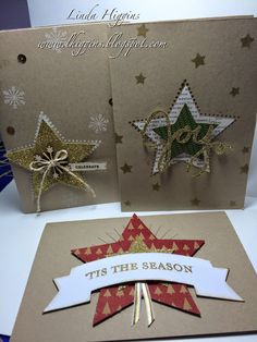 Many Merry Stars kit Creations... more than just star boxes!