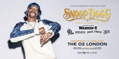 "Snoop Dogg - ""I Wanna Thank Me"" Tour (The O2, London) Warren G, Snoop Dogg, Special Guest, Documentaries, Rap, Hip Hop, Tours, Album, Hiphop"