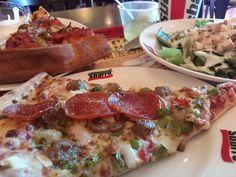 -Sbarro- NY Style Pizza $ 3.80 Shikagopiza's All Meat $ 7.80 Drinks $ 1.50 http://alike.jp/restaurant/target_top/1081686/