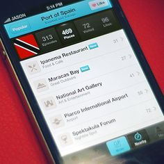 Travelog City View design by Jason Yoo. - Best Mobile Designers In The World | Scoutzie