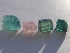 Tourmaline stones Tourmaline Stone, Natural Stones, Stud Earrings, Jewelry, Jewlery, Jewerly, Stud Earring, Schmuck, Jewels