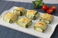 Ravioli de calabacín, queso ricotta y espinacas