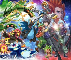 The Mega Evolution Special ^_^ I give good credit to whoever made this