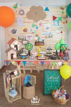 Festa 3 Porquinhos FOFOS para os 2 aninhos do Gabriel.