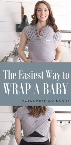 f5d0ea68014 Babywearing Wrap Tutorial- How to Wrap a Newborn in a Moby Wrap
