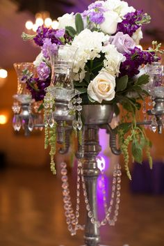 Purple Wedding Ideas with Sophistication - MODwedding