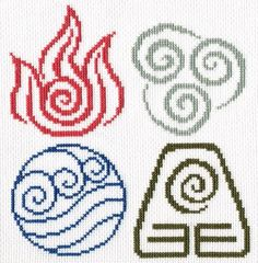 Avatar four elements pattern