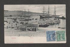 Muelle de Caldera 1880.