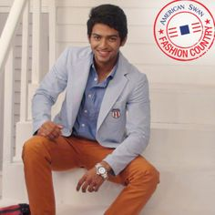 Unmukt Chand tells you how to flaunt it with style. His favorite pick is the smartly fit waist length jacket, Rust coloured chinos & Chicago brown sneakers that defines the perfect attitude as you parade in style!