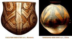 Influenţele civilizaţiei CUCUTENI: YANGSHAO, China (5000-3000 î.e.n.) Altar, Table Lamp, China, Celestial, Home Decor, Table Lamps, Decoration Home, Room Decor, Home Interior Design