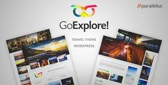 Download and review of Travel WordPress Theme - GoExplore!, one of the best Themeforest Retail themes