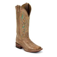 Nocona Women's Honey Square Toe Western Boots