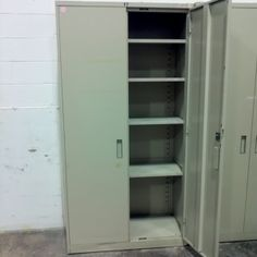 Used Storage Cabinet Tall Cabinet Storage, Locker Storage, Used Cabinets, Lockers, Furniture, Home Decor, Decoration Home, Room Decor, Home Furniture