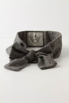 Anthropologie Tweed Magnificent Sash