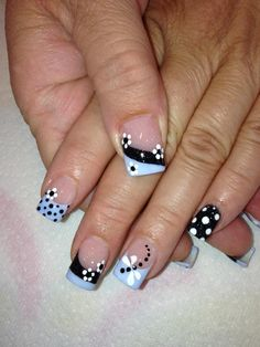 If you want a chic and polished look, nothing beats a classic French manicure. This style of manicure is easy to do on yourself. Save these 60 gorgeous french nail designs for next spring. French Nails, French Acrylic Nails, Fingernail Designs, Acrylic Nail Designs, Nail Art Designs, Nails Design, Floral Designs, French Nail Designs, Nail Designs Spring