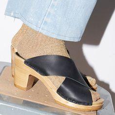 No 6 Clog Sandal Frida High Heel Peep Toe Platform Sven hasbeens Mule Slide 41 No 6, Wooden Clogs, Clog Sandals, Peep Toe Platform, High Heels, Wedges, Casual, Shoes, Fashion