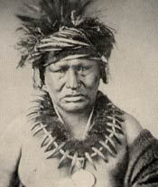 Chief Keokuk, Sauk Indian (c 1780-1848) - Chief Keokuk (Kiyo`kaga, 'one who moves about alert' ) of the Sauk tribe in central North America was one of the men responsible for starting the Black Hawk War. He was a member of the Fox clan, born on Rock river, Illinois. He was not a chief by birth, but rose to command through ability and force of character.