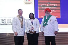 Miss Priyadarshini Parthiban, student of Al-sunrice institute of hotel management, Singapore receives the best pastry student award from Chef Charles Carroll, President of WACS and Chef Manjit SinghGill, President of IFCA. Great honour indeed! ‪#‎IFCAGCEATITC‬  #Chefs #Foodie #Chennai #chefspecial #professionals #ITC #kitchen #culinary #foodtourism #foodandtravel #foodart #chefsart #delicious #finedining #chefsmeet #conference #desserts